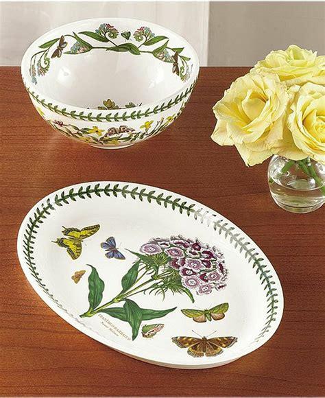 Botanical Gardens Dishes Portmeirion Dinnerware Botanic Garden Collection