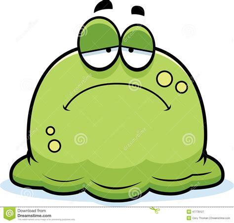 free design for phlet sad little booger stock vector image 47778127