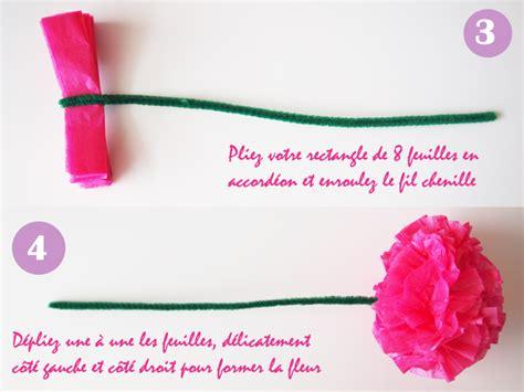 Bricolage Fleur En Papier De Soie by Sirop De Fraise Lifestyle Et Diy Tours