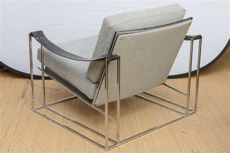 Floating Lounge Chair by Milo Baughman Floating Lounge Chair Pair Circa 1972 At