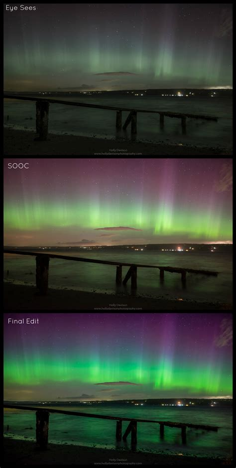 Northern Lights Salem Oregon by Why Your Sees The Northern Lights Better Than You Do Katu