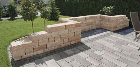 terrasse mauer sichtschutz steinmauer terrasse spinjo info