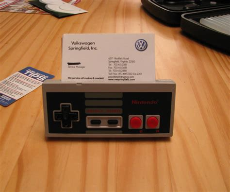 Nes Business Card Holder Looks by Nintendo Controller Business Card Holder W Sound