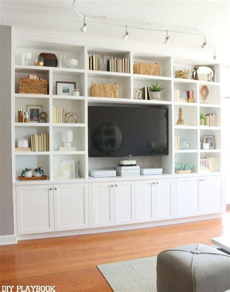 bookcase cabinets living room 25 best ideas about tv shelving on industrial