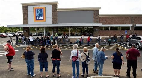 Shoppers Food Gift Cards - the day early bird shoppers flock to aldi in waterford on opening day news from