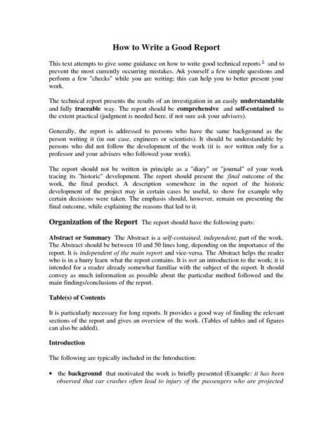 how to write a work report template write a report exle drugerreport732 web fc2