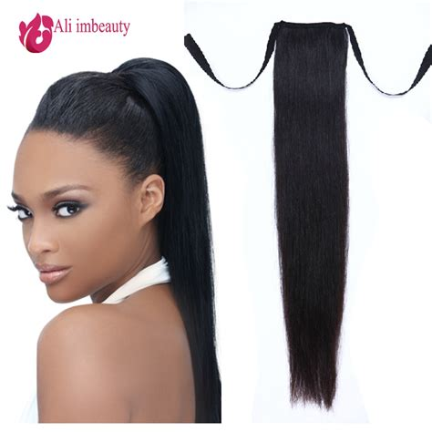 how to use ponytail hair extensions grade 6a remy human hair ponytails hair 100