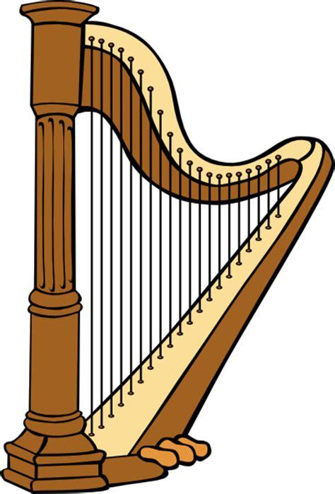 classical harp clip free vector 4vector