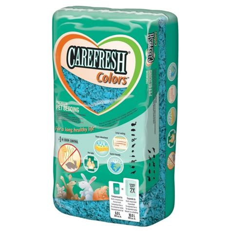 carefresh bedding carefresh small animal bedding blue 10 litre feedem