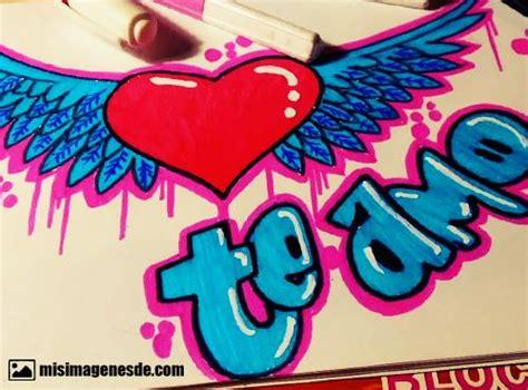 imagenes de graffitis que digan te amo ximena graffitis de te amo pictures to pin on pinterest pinsdaddy