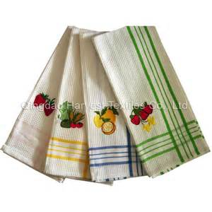 Embroidery Designs For Kitchen Towels Kitchen Towel Embroidered Embroidery Designs