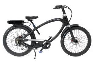Ford Bicycle Ford Teams Up With Pedego To Create The Supercruiser