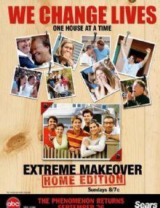 extreme makeover home edition tv show news videos full extreme makeover home edition 2003 cast and crew