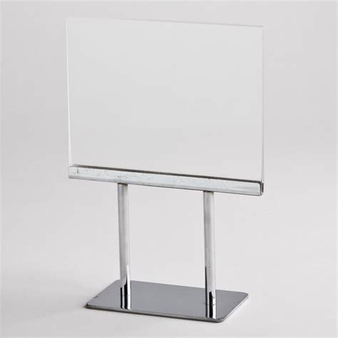 Countertop Sign Holder by Countertop Sign Holder A B Store Fixtures