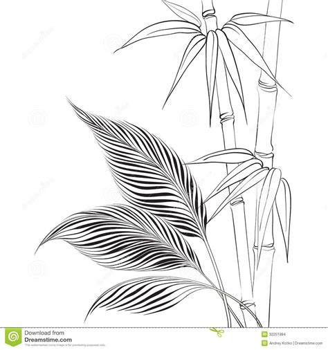 bamboo tree coloring page bamboo coloring pages az sketch coloring page