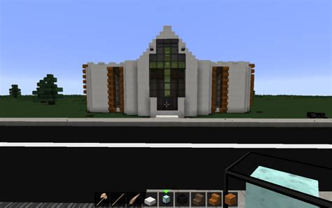 Minecraft Home Decoration small modern church creation 3607