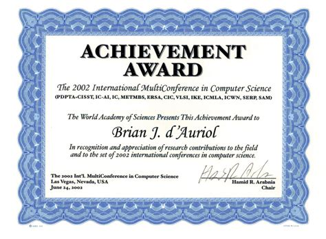 lifetime achievement award certificate bing images
