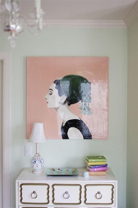 audrey hepburn bedroom audrey hepburn art eclectic girl s room matchbook