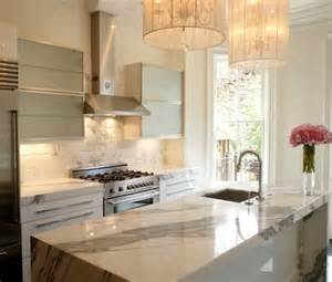 Kitchen Marble Countertops Marble Kitchen Countertops Are Coming Back