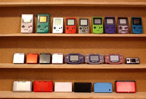 gameboy color ebay ebay collection w every nes snes boy