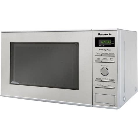 Microwave Panasonic Nn Sm209w panasonic nn sd372s compact 0 8 cu ft 950w countertop microwave oven stainless steel front