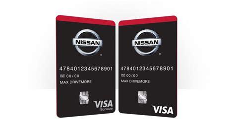 Nissan Credit by Nissan Offers Visa Credit Card Rewards Program Peruzzi