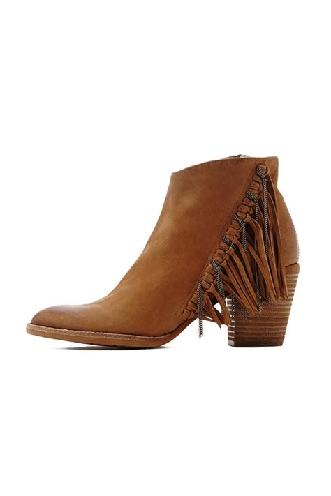fringe booties dolce vita brown fringe bootie from west loop by tribeca
