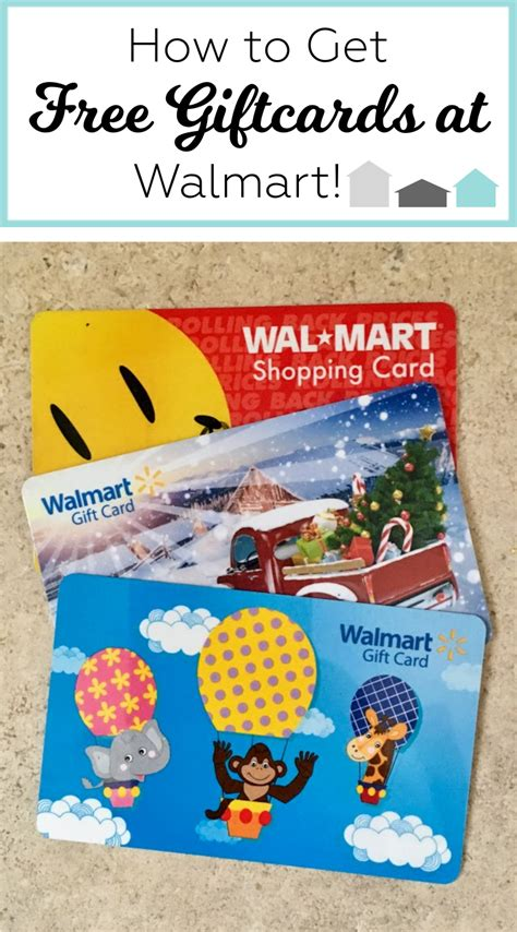 How To Get Free Walmart Gift Card - how to get free giftcards at walmart super savvy sarah