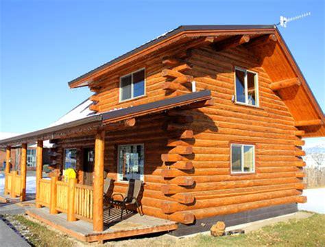 Amish Meadow Lark Cottages Montana Log Cabins Amish Built Meadowlark Log Homes