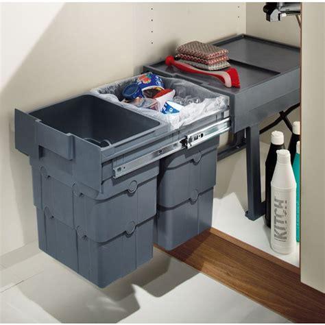 kitchen cabinet storage bins buy kitchen cupboard waste boy pull out waste bin