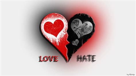 images of love hate love and hate by elzecho on deviantart