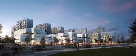 Home Building Design Magazines Architecture Photography Jiading Office Complex Proposal
