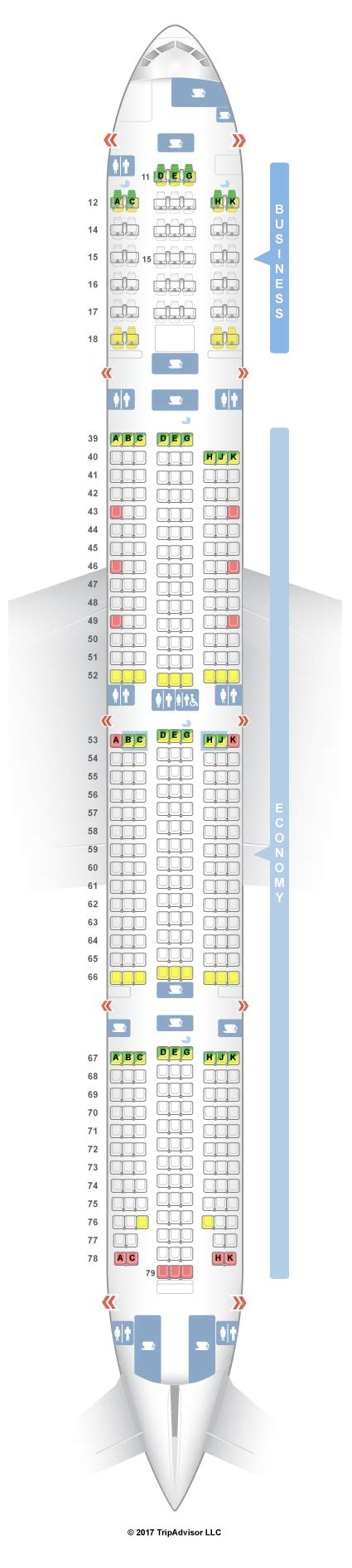 cathay pacific seat map seatguru seat map cathay pacific boeing 777 300 73z new