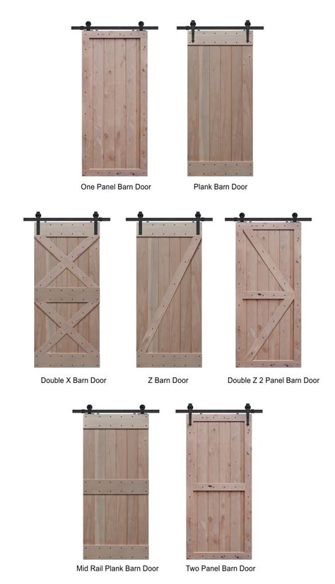 Tips Tricks Nice Barn Style Doors For Home Interior Barn Door Style Interior Doors