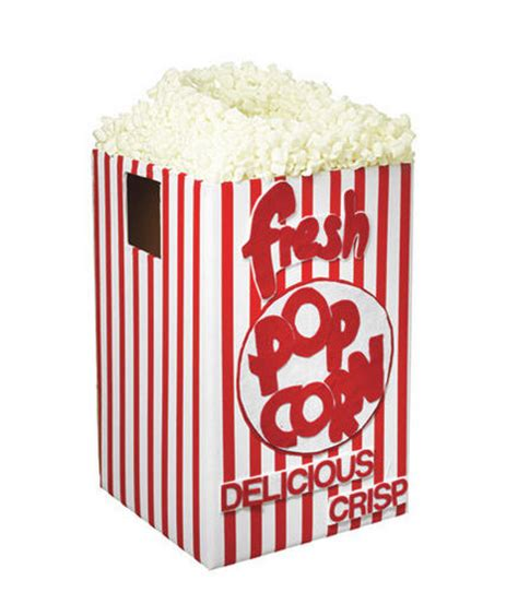 How To Make A Popcorn Box Out Of Paper - 4 easy costume ideas real simple