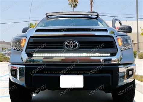 toyota tundra light 1 lower bumper grill mount for 2014 up toyota tundra