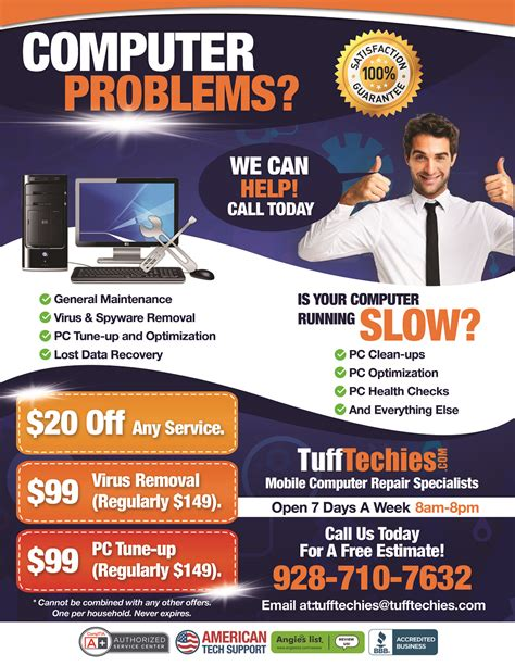 Home Design Software Mac prescott computer repair flyer 1 tuff techies