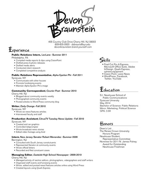 best ideas of best fonts for your resume lovely best font