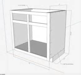 kitchen cabinet drawings kitchen cabinets the engineer s way finewoodworking