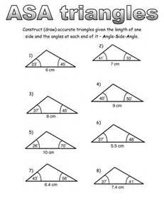 Asa sas and sss construction worksheets by schandler13 teaching