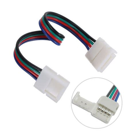 4pin Rgb Led Strip Lights Fast Conector To 4pin Rgb Led Led Light Accessories
