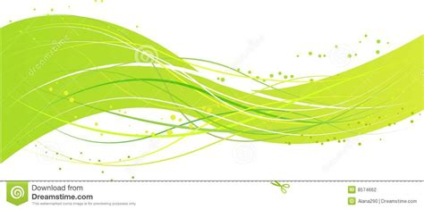 green plans abstract green wave design stock photography image 8574662