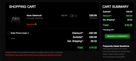 razer    percent discount code   uk