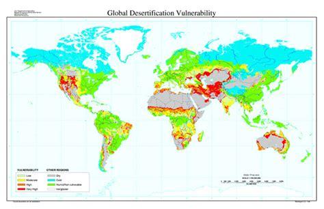maps globe specialist distributor global desertification vulnerability map nrcs soils