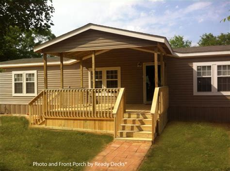 mobile home porch design for comfort and curb appeal