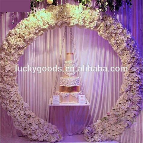 Wedding Arch Wholesale by Customized Shape Metal Garden Wedding Arch Wholesale