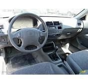 Gray Interior 1998 Honda Civic EX Coupe Photo 71084044