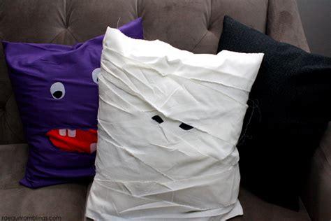 The Mummy Pillow 15 minute mummy pillow tutorial gun ramblings