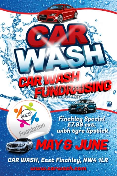 car wash flyer template postermywall
