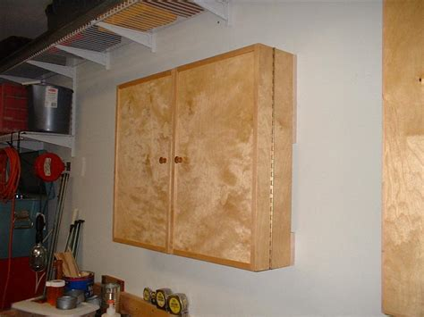 Wall Hung Tool Cabinet Plans